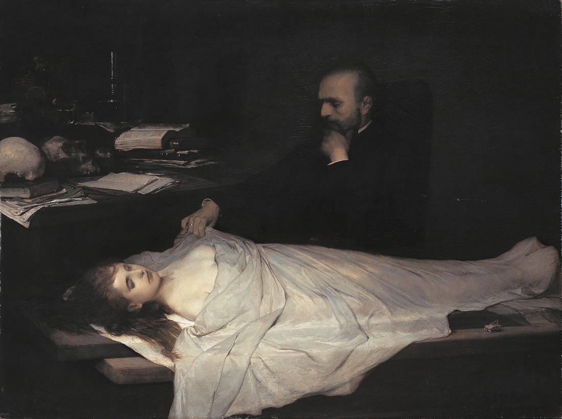 Gabriel von Max - Der Anatom
