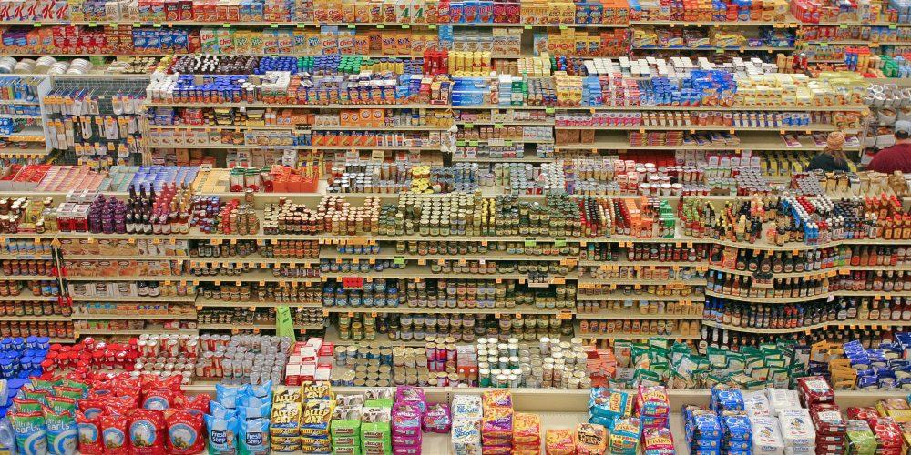 Foto eines Supermarktes